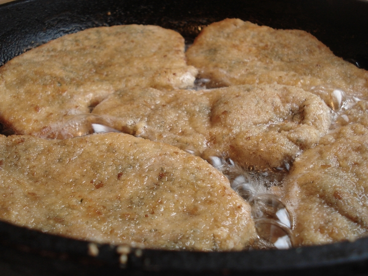 Ромштекс из свинины на сковороде - фото шаг 6