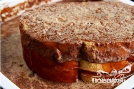 Французские тосты с фруктовой начинкой - фото шаг 4