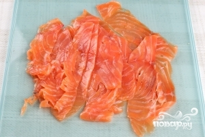 Карпаччо из лосося - фото шаг 4