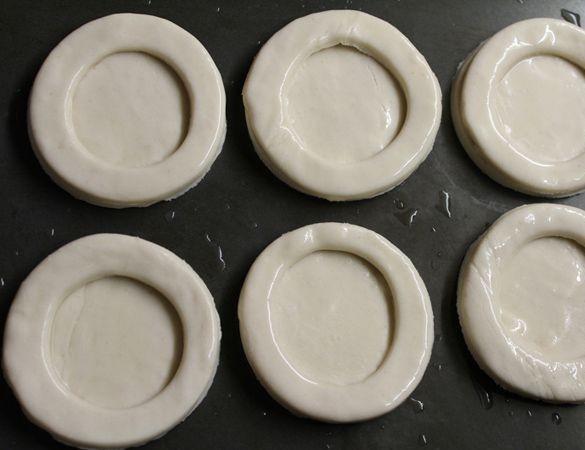 Волованы с печенью трески - фото шаг 3