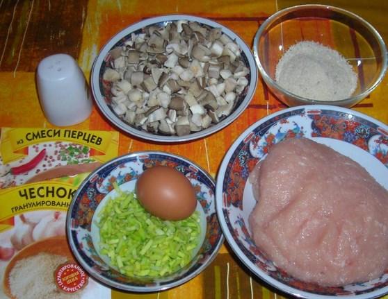 Рецепт Куриная грудка с цветной капустой в духовке