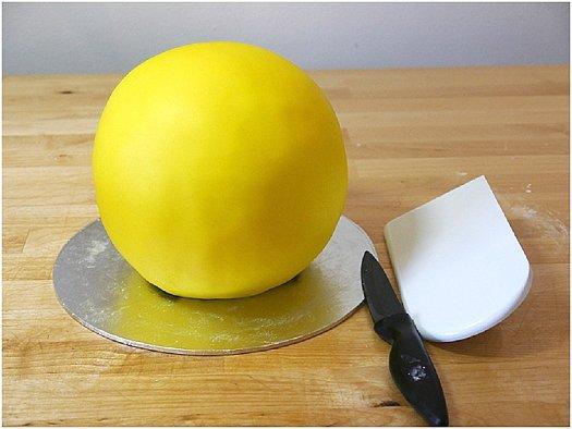 "Торт ""Желтый"" - фото шаг 6"