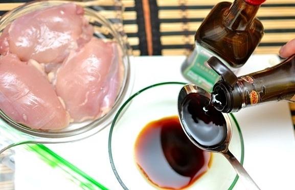 Рецепт Курица с брокколи и грибами