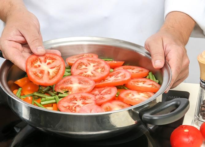Овощное рагу с бараниной   - фото шаг 3