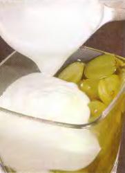 Виноград в желе из йогурта - фото шаг 6