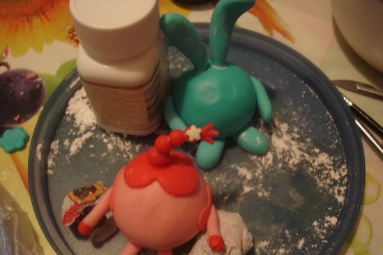 """Торт """"Смешарики"""" - фото шаг 7"""