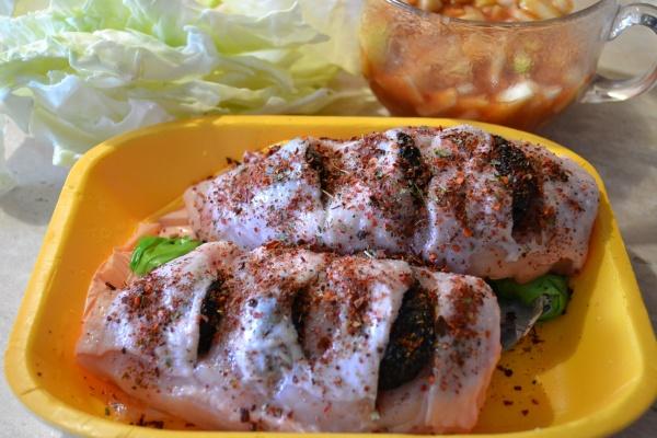 Рецепт Куриная грудка с черносливом