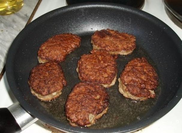 Печеночные котлеты из говядины рецепт с фото