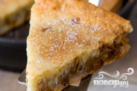 Рецепт Пирог с инжиром и миндалем