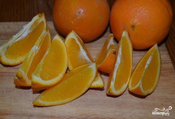 Пирог с апельсиновой начинкой - фото шаг 8