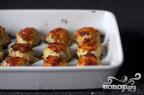 Запеченные куриные фрикадельки - фото шаг 4