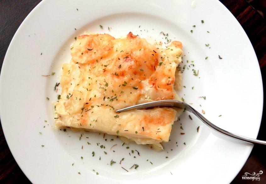 Рецепт Картофель в молоке