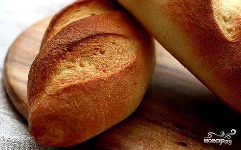 Рецепт Батон в хлебопечке