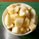 Рецепт Тушеный кролик с картофелем и оливками