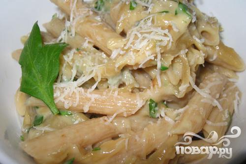 Рецепт Паста с луковым соусом