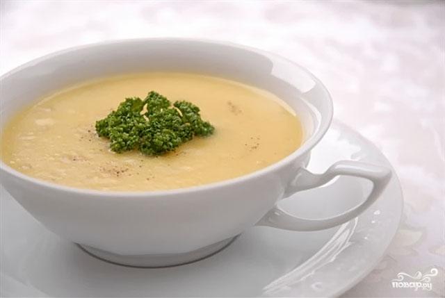 Рецепт Суп из брокколи со сливками