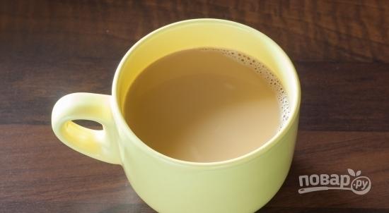 Раф-кофе с лавандой - фото шаг 2