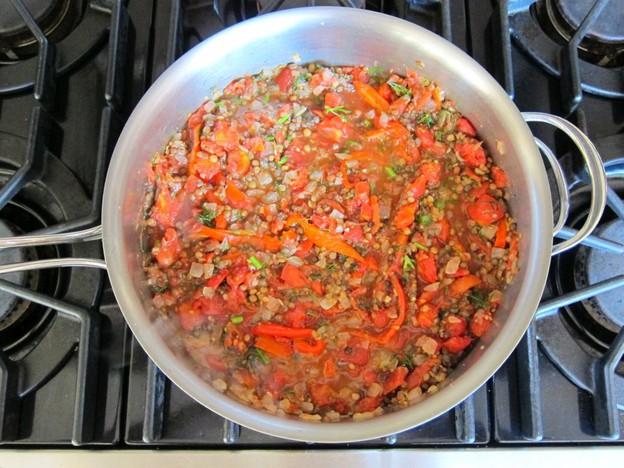 Мусака овощная запеченная - фото шаг 4