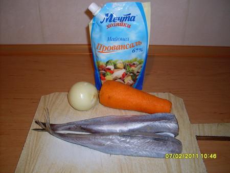 Рецепт Тушеная рыба в майонезе