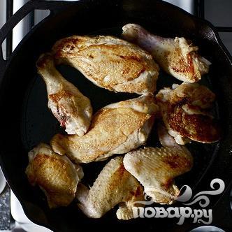Жареная курица с горчичным соусом - фото шаг 2
