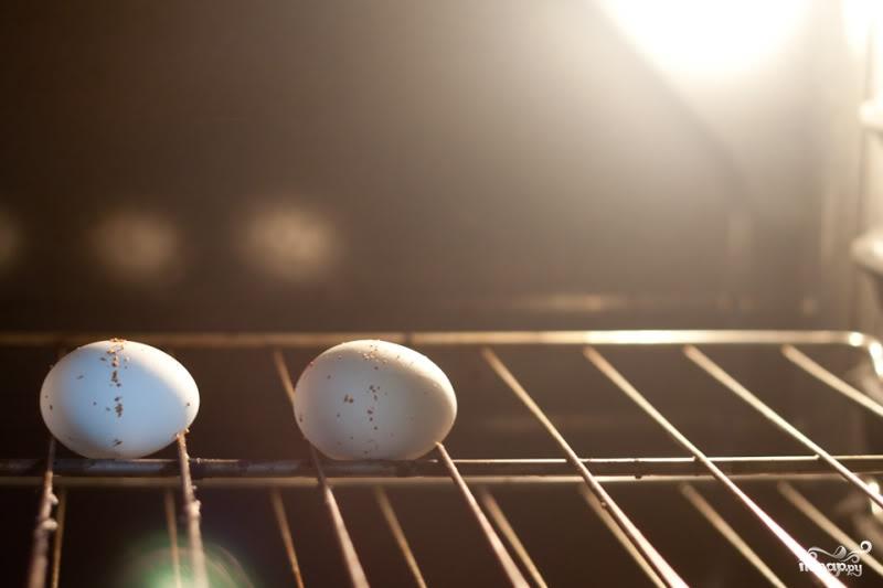Яйца по-еврейски - фото шаг 1