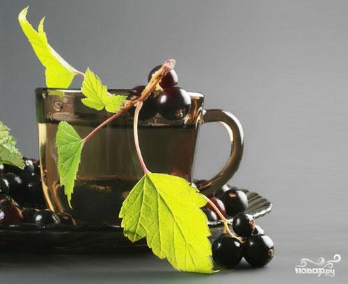 Отвар из листьев смородины