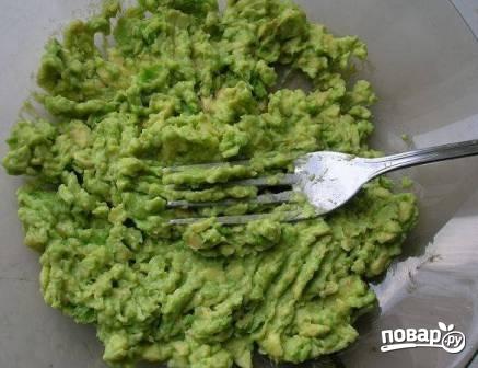 Паста из авокадо - фото шаг 3