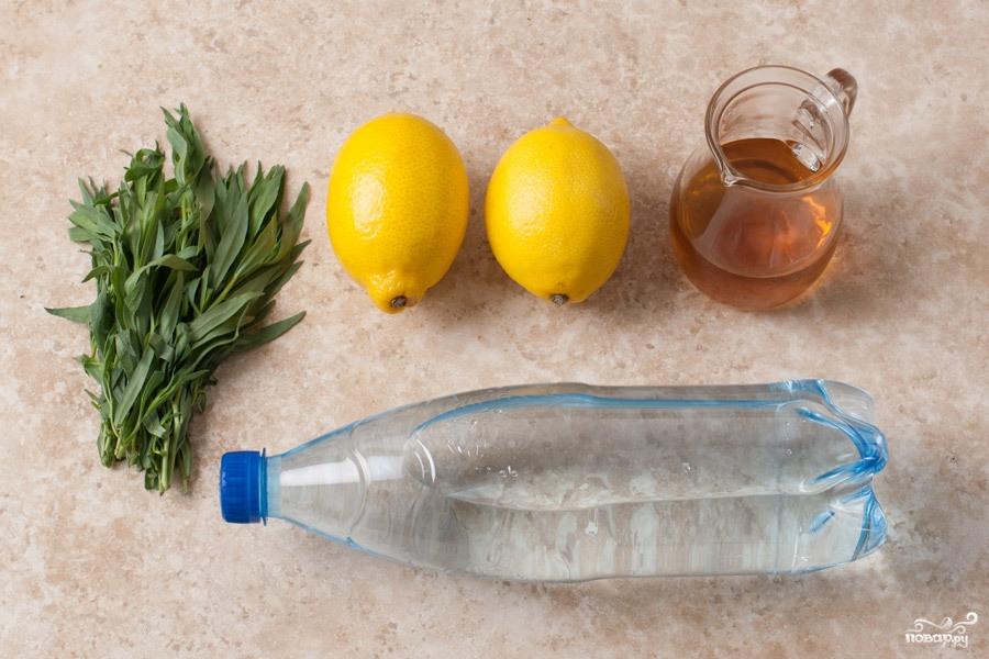 Лимонад тархун - фото шаг 1