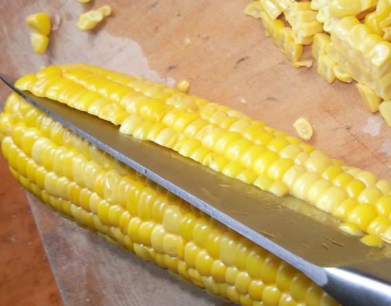 Молодая кукуруза на зиму - фото шаг 5
