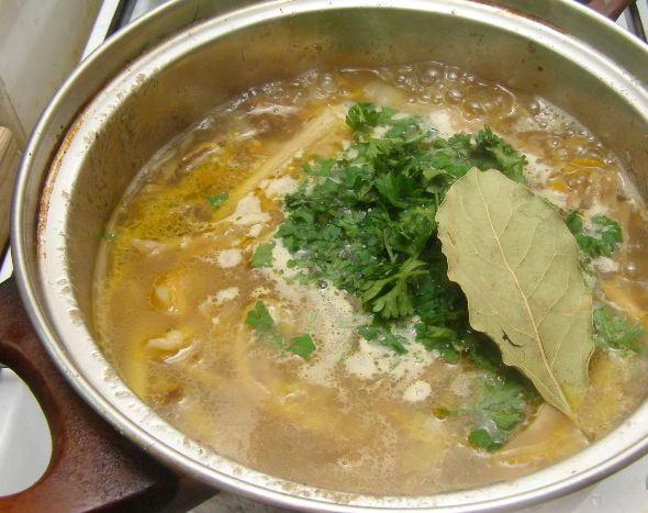 грибной суп рецепт из сухих грибов рецепт с фото