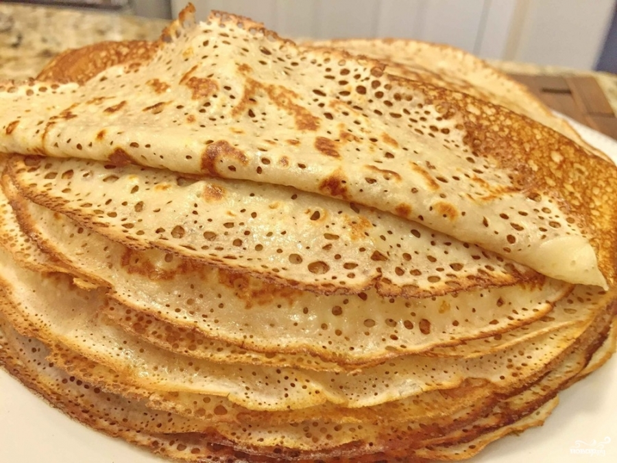 Тесто для тонких блинчиков - фото шаг 8