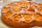 Пирог с абрикосами (простой и вкусный)