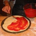Рецепт Пицца с анчоусами