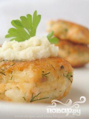 Рецепт Котлеты из лосося с соусом Терияки