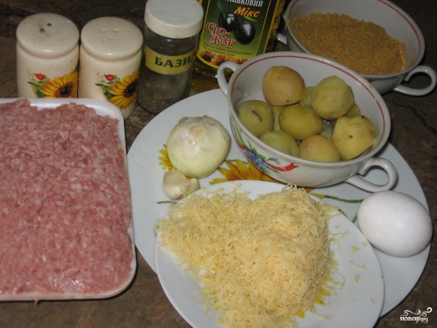 Тефтели с картофелем - фото шаг 1