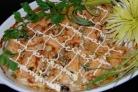 Пангасиус в духовке с овощами