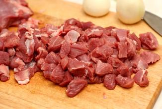 Мясо в лаваше - фото шаг 1