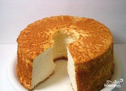 Воздушный сметанный пирог
