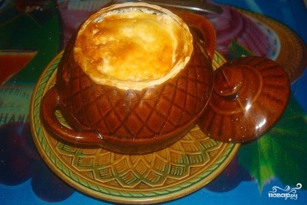 Рецепт Картофель в горшочках с сыром