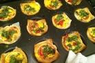 Тарталетки с сыром и яйцом
