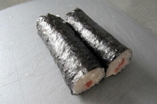 Суши с семгой - фото шаг 7