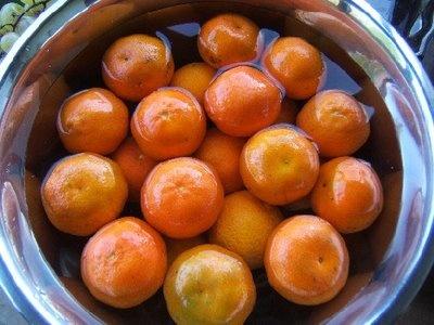 Рецепт Варенье из мандаринов в кожуре