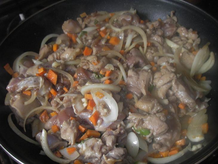 Курица в остром соусе по-китайски - фото шаг 5