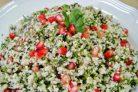 Салат с цветной капустой и гранатом