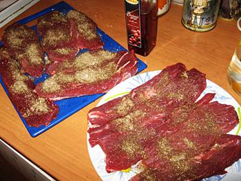 Рецепт Бастурма из свинины в духовке