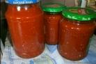 Аджика с хреном и помидорами
