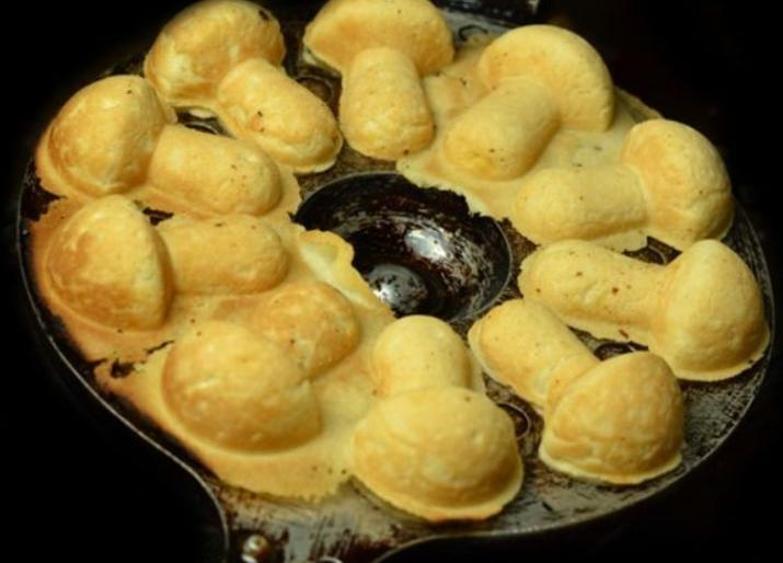 Грибочки в формочке рецепт с фото пошагово