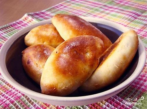 тесто на пирожки дрожжевое на сметане в духовке рецепт