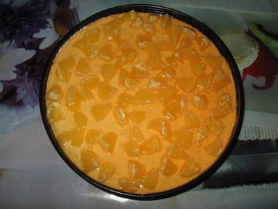 Апельсиновый торт без выпечки - фото шаг 5
