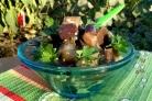 Малосольные баклажаны с чесноком